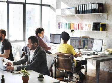 temp office
