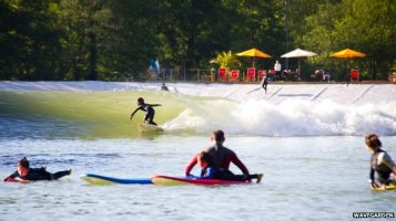 surfing lake