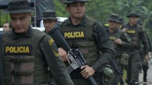 Colombian police