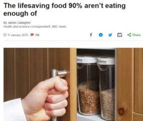 bbc high fibre diet