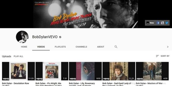 Bob Dylan Vevo