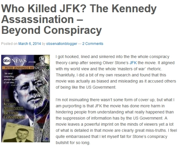 Who killed JFK