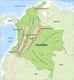 colombia-physical-map