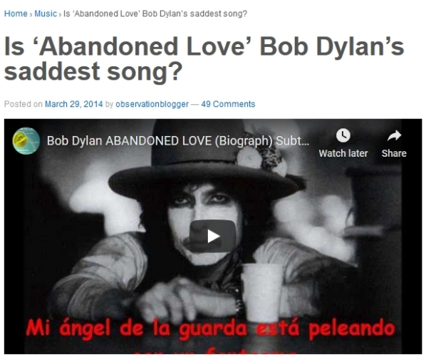 Abandoned Love Image