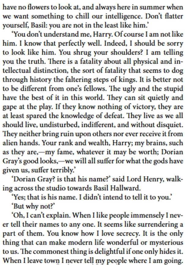 Dorian Gray - Basil Pt 2