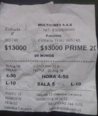 Monos Ticket