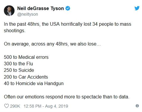 Neil de Grasse Tyson tweet