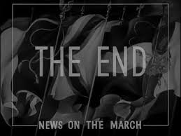 news on the march the end