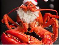 Santa lobster