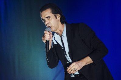 Nick Cave in concert, Stockholm, Sweden - 18 Oct 2017